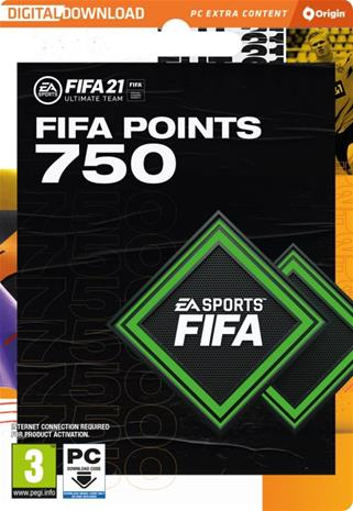 FIFA 21 Ultimate Team - 750 FIFA Points, PC-peli