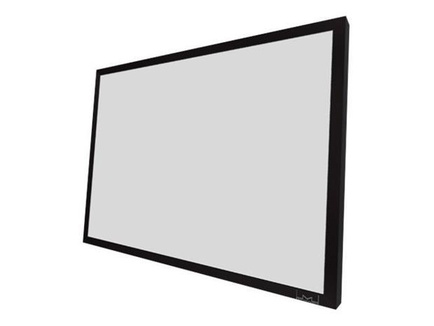 "Multibrackets M Grey Plus Extra Cloth 2.35:1 180"", valkokangas"