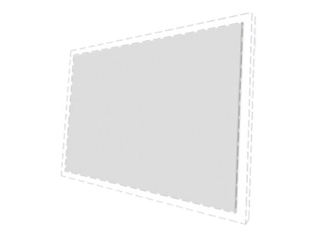 "Multibrackets M Framed Projection Screen 16:10 108"", valkokangas"