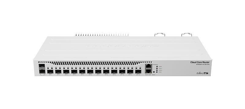 Mikrotik CCR2004-1G-12S+2XS, reititin