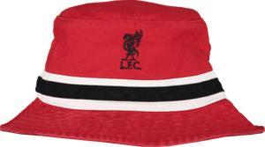 47 Brand LIVERPOOL FC STRIPED BUCKET HAT RED/BLACK