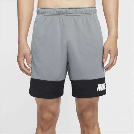 Nike M NK DRY SHORT 5.0 MC SMOKE GREY/BLACK/W