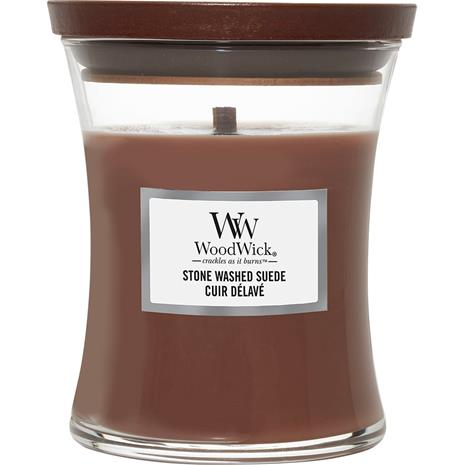 WoodWick Stone Washed Suede - 615 g