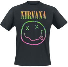 Nirvana - Sorbet Ray - T-paita - Miehet - Musta
