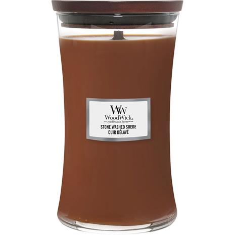 WoodWick Stone Washed Suede - 1155 g