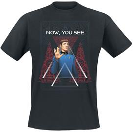 Star Trek - Now, You See - T-paita - Miehet - Musta