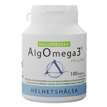 AlgOmega3 Kallpressad 100 kapselia