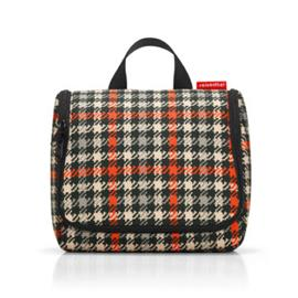 reisenthel ® wcbag glencheck punainen