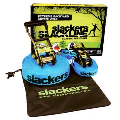 slackers® Slackline Class ic Sis. opetuslinja
