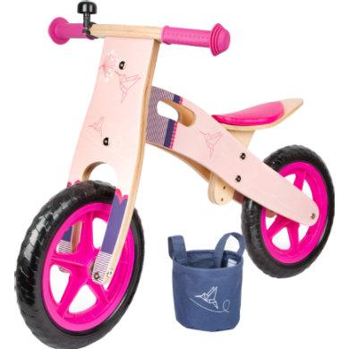 small foot® Potkupyörän vaaleanpunainen kolibri