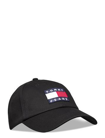 Tommy Hilfiger Tjw Heritage Cap Accessories Headwear Caps Musta Tommy Hilfiger BLACK, Naisten hatut, huivit ja asusteet