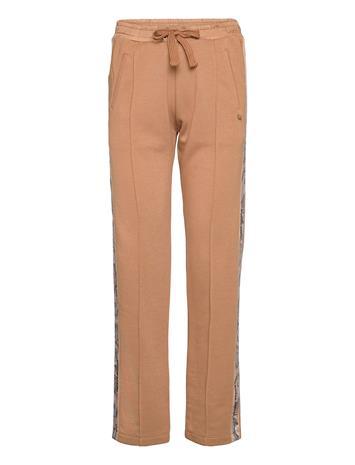Scotch & Soda Sweatpants With Side Tapes Collegehousut Olohousut Ruskea Scotch & Soda CAMEL