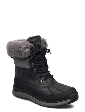 UGG W Adirondack Iii Shoes Boots Ankle Boots Ankle Boot - Flat Musta UGG BLACK