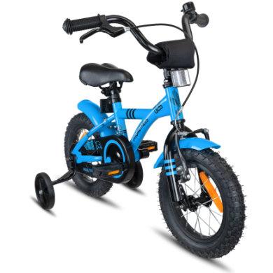 PROMETHEUS -PYÖRÄT SININEN HAWK-lasten polkupyörä 12 , sininen ja amp musta, 3-vuotiaista