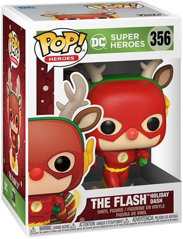 The Flash - The Flash Holiday Dash (Holiday) Vinyl Figure 356 (figuuri) - Funko Pop! -figuuri - Unisex - multicolor