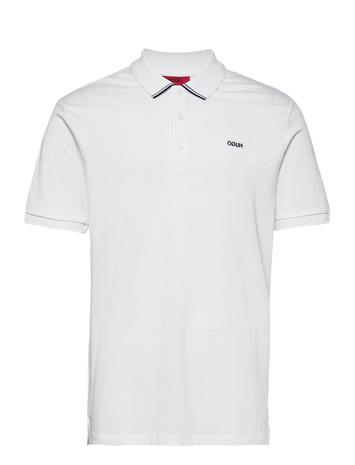 HUGO Daruso204 Polos Short-sleeved Valkoinen HUGO WHITE