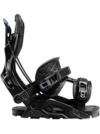 Flow Fuse Snowboard Bindings 2021 black Miehet