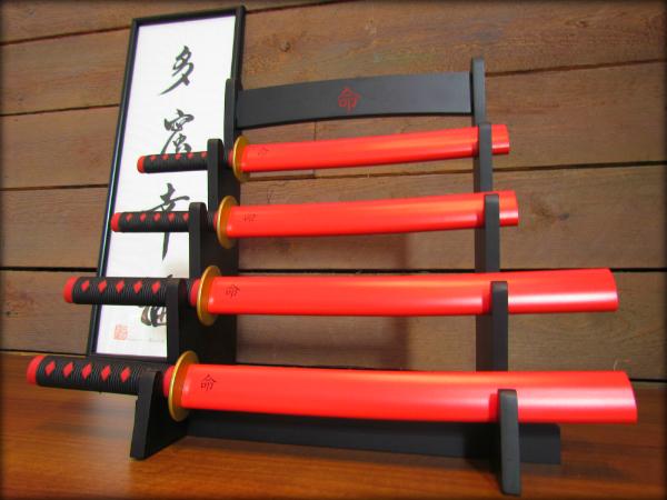 Samurain keittiöveitsisetti