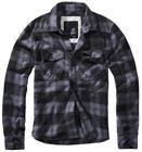 Brandit - Checkshirt - Flanellipaita - Miehet - Musta hiilenharmaa