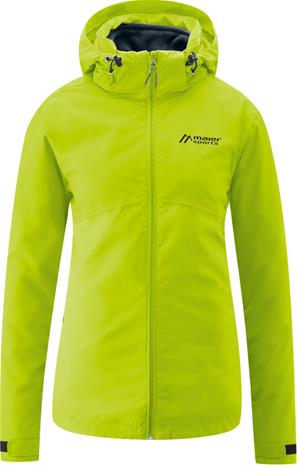 Maier Sports Gregale DJ Jacket Women, kiwi