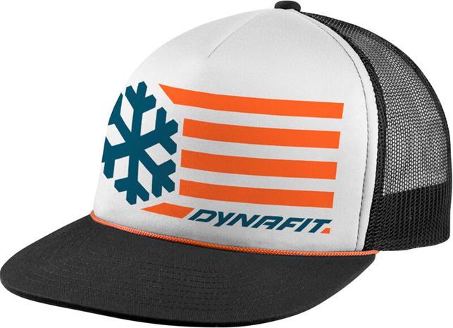 Dynafit Graphic Trucker Cap, white/0910 flag