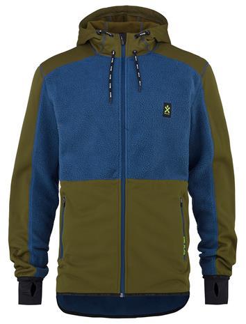 Bula Fleece Zip - Takki - Sininen - XL