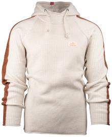 Amundsen Boiled Hoodie Stripes - Paita - Oatmeal - S