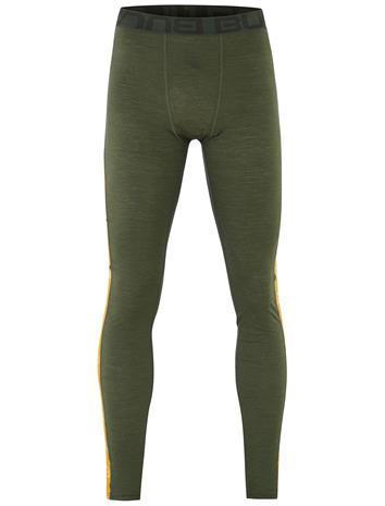 Bula Tape Merino Wool - Pitkät alushousut - Oliivi - L