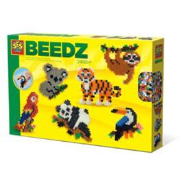 SES Creative® Jungle -eläinten silitettävä helmikomplekti