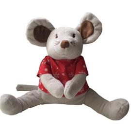 Babiage Doodoo Mouse Xmas punainen