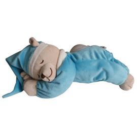 Babiage Doodoo -karhu, jossa yövalo turkoosi