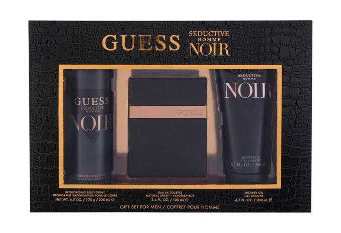 GUESS Seductive Homme Noir EDT lahjapakkaus miehelle 100 ml