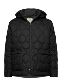 R-Collection Vaala Quilt Hoodie Tikkitakki Musta R-Collection BLACK