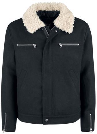 Brandit - Falcon Jacket Men Solid - Välikausitakki - Miehet - Musta