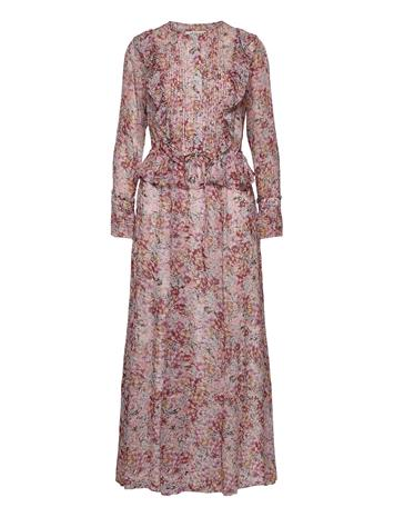 By Malina Gio Dress Maksimekko Juhlamekko Vaaleanpunainen By Malina SORBET FLORAL