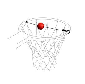 Pure Target Trainer koripallokorin tähtäysharjoitin
