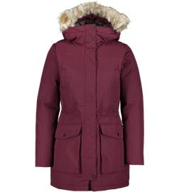 Everest W PARKA WINE RED