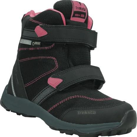 Treksta Run GTX High Talvikengät, Black/Pink, 24