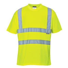 Portwest Miesten Hi-Vis T-paita, keltainen S
