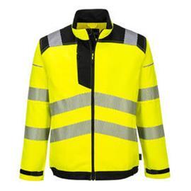 Portwest PW3 Miesten Hi-Vis työtakki, keltainen/musta S