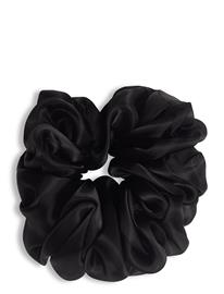 Becksöndergaard Organza Scrunchie Beauty WOMEN Hair Hair Accessories Musta Becksöndergaard BLACK