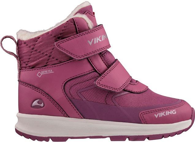 Viking Ella GTX Talvikengät, Dark Pink/Violet, 23