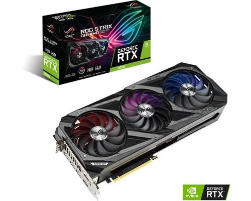 ASUS GeForce RTX 3090 Gaming 24 GB, PCI-E, näytönohjain