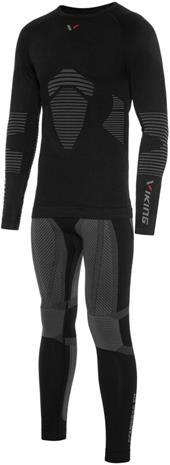 Viking Europe Titano Underwear Set Men, black