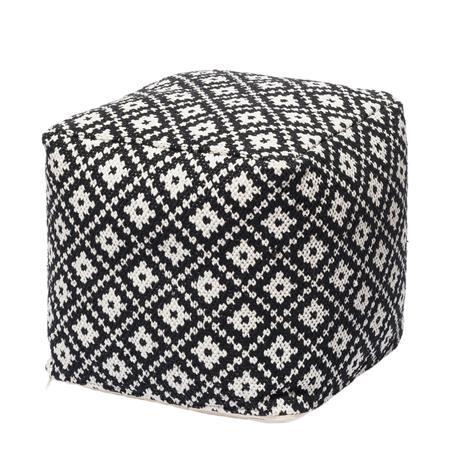 KOODI Aino rahi, musta-valkoinen, 40 x 40 x H 40 cm