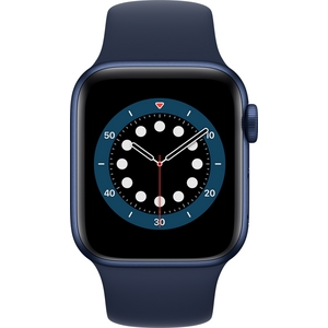 Apple Watch Series 6 GPS sininen alumiinikuori 40 mm matruusinsininen urheiluranneke MG143KS/A