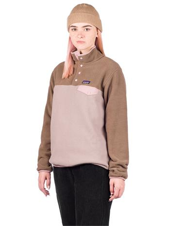 Patagonia LW Synchilla Snp-T Fleece Sweater furry taupe Naiset