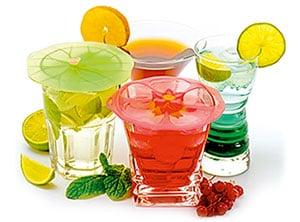 Floral Drink Covers - CDU/36, Paistinpannu