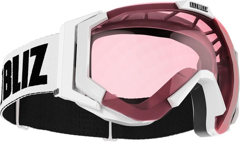 Bliz Carver Small Laskettelulasit, white-black/pink
