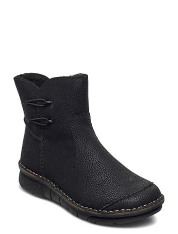 Rieker 73364-00 Shoes Boots Ankle Boots Ankle Boot - Flat Musta Rieker BLACK